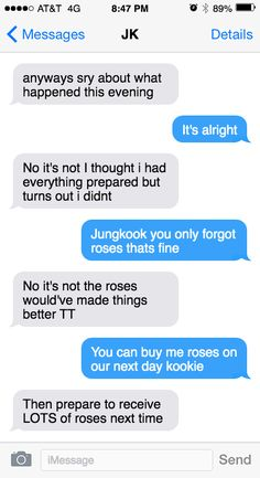 Fake Text Message is a tool to create a Fake Text Conversation and a Fake iMessage. Message For Boyfriend, Boyfriend Texts, Foto Jungkook, Jungkook Cute, Fake Text Message, Text Messages, Chats Image, Bts Scenarios, Bts Texts