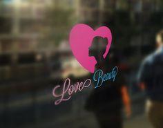 Love Beauty Logo template by Vectorwins Premium Shop on @creativemarket