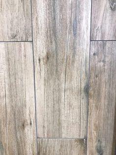 Brick Discover Mansfield Amber Wood Plank Porcelain Tile - 6 x 24 - 100156603 Wood Look Tile Floor, Herringbone Tile Floors, Floor Grout, Wood Plank Tile, Hardwood Floor Colors, Wood Planks, Shabby Chic Laminate Flooring, Farmhouse Flooring, Wood Flooring