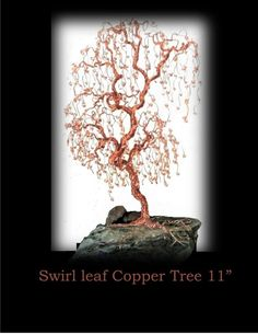 Copper tree  - wire tree sculpture - large  copper tree - tree lovers gift -  mother gift - grandmother gift,husband gift,father