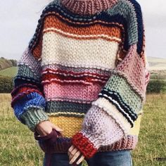 The Effective Pictures We Offer You About stricken deutsch A quality picture can tell you many thing Cool Outfits, Fashion Outfits, Mode Vintage, Knit Fashion, Aesthetic Clothes, Diy Clothes, Knitwear, Knit Crochet, My Style