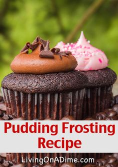 Pudding Frosting Recipe- Just 3 Ingredients!