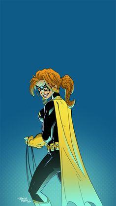Batgirl....this looks like Carrie (forgot her last name) from the batman returns comics