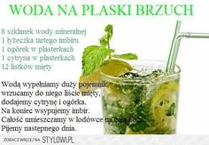 Detox Drinks, Healthy Drinks, Healthy Snacks, Super Dieta, Diet Recipes, Healthy Recipes, Flat Belly Diet, Health Eating, How To Lose Weight Fast