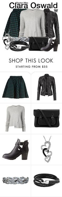 """""""Doctor Who"""" by wearwhatyouwatch ❤ liked on Polyvore featuring River Island, maurices, Proenza Schouler, The Cambridge Satchel Company, Charlotte Russe, Jewel Exclusive, Bling Jewelry, television and wearwhatyouwatch"""