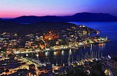 Symi island port,Greece