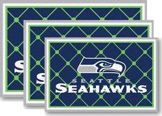Use the code PINFIVE to receive an additional 5% discount off the price of the  Seattle Seahawks NFL Area Rugs at sportsfansplus.com
