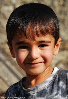 What a cute boy! Village of Khorog, TAJIKISTAN