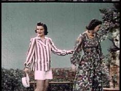 1940's Fashion - Beach and Swimwear