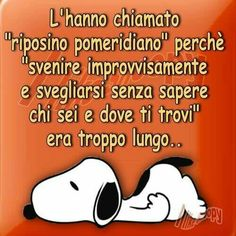 ♡♡♡ Snoopy, Italian Humor, Short Messages, Good Mood, Charlie Brown, Laugh Out Loud, Vignettes, My Friend, Best Friends