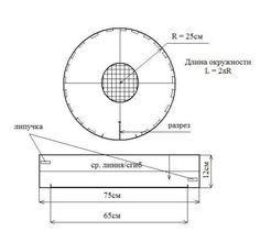 Колпак-таблетка для повара (429x400, 16Kb)