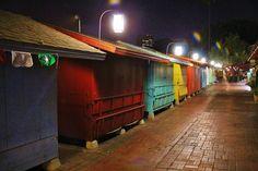 Olvera street shops night!
