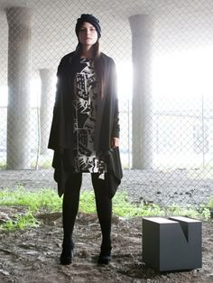 """Nurmi is a Finnish sustainable clothing label that wants to """"bring back the times when both the quality and the design of clothes were meant to last."""" Anniina Nurmi, who hails from Tamp… Sustainable Clothing, Sustainable Fashion, Clothing Labels, Ethical Fashion, Finland, Sustainability, Style Me, Goth, Bring It On"""