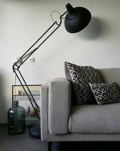 Livingroom woonkamer zuiver woood made by inspiratie inspiration vintage novilon beton woonideeën wooninspiratie nockeby ikea