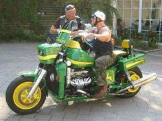 Nothing Runs Like a John Deere Bike...