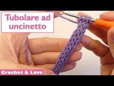 Tutorial cordoncino tubolare ad uncinetto - icord - YouTube