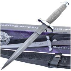 Gil Hibben GH441D Silver Shadow Genuine Damascus Dagger   MooseCreekGear.com   Outdoor Gear — Worldwide Delivery!   Pocket Knives - Fixed Blade Knives - Folding Knives - Survival Gear - Tactical Gear