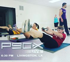 If you're local to us meaning Livingston LA come see @bryanlmartin tonight for an awesome class! Bring 2 sets of weights water and a yoga mat. You're going to love it if you've never been! If you're not on our email list please go to itmclasses.com to sign up for updates on our classes and local events!