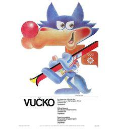 Mascot of Olympic Winter Games in Sarajevo 1984