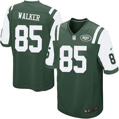 Nike Limited Wesley Walker Green Youth Jersey - New York Jets #85 NFL Home