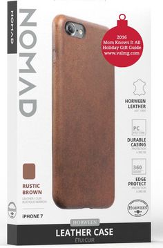 2016 Mom Knows It All HOLIDAY GIFT GUIDE - Nomad Horween Leather Case For iPhone