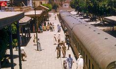 محطة قطار الاقصر  1955