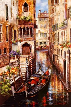 Italian Love Story  #Art #Painting by James Lee