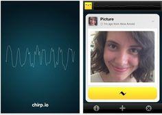 Chirp.io – Codigos similares al QR, por AUDIO [iPhone / iPad]