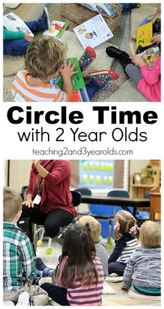 How to have circle times with 2 year olds - tips for teachers in the classroom that really work!