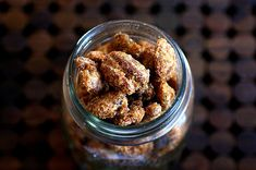 sweet and smoky-spicy nuts