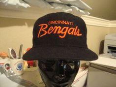 ffd9898c Vintage-NFL-Cincinnati-Bengals-Sports-Specialties-Scripted-Wool-Snapback-Cap -Hat