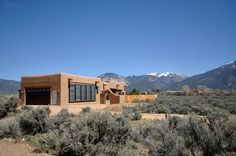 eclectic exterior by Zero E Design Eco-friendly home in the desert