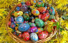 certainPL DIY Diamond Painting Kits, Full Drill Crystal Rhinestone Diamond Embroidery Paintings Pictures, Household Arts Craft for Adults - Happy Easter (B) Easter Egg Basket, Easter Eggs, Easter Bunny, Ostern Wallpaper, Hd Wallpaper, Easter Egg Designs, Easter Ideas, Easter Pictures, Diy Ostern