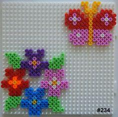 Inspiration for playing with Hama Beads Perler Beads, Perler Bead Art, Fuse Beads, Easy Perler Bead Patterns, Melty Bead Patterns, Beading Patterns, Art Perle, Motifs Perler, Hama Beads Design