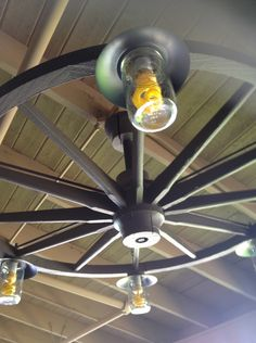 wagon wheel mason jar light i need to know how to make this alternating length wagon wheel mason jar