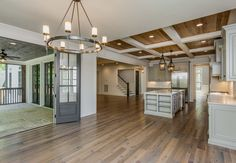 Love the openness about this layout and the indoor./outdoor living space!   3608 Colewood - Vintage South Development