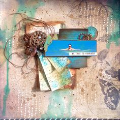 20/11/2014 Scrapbooking Layouts, Scrapbook Pages, Page Layout, Creations, Symbols, In This Moment, Cool Stuff, Beach, Inspiration