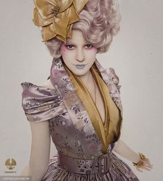 The Hunger Games' Effie Trinket Wears McQueen - Coco's Tea Party