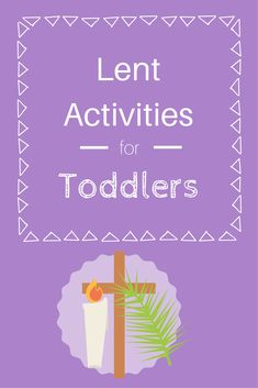 Lent is just a few days away. I have rounded up a few activities for our family to do. I planned each week with a gospel account of Je. Holy Week Activities, Easter Activities For Toddlers, Preschool Activities, Church Activities, Preschool Lessons, Sunday School Lessons, Lessons For Kids, Catholic Lent, Catholic Easter