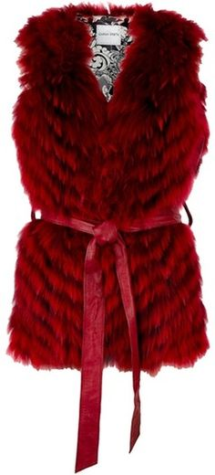 Giorgio Brato Red Rabbit Fur Gilet (BB). I don't like real fur, if this was fake it would be perfect!