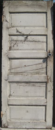 90+ Year Old 5 Panel Doors - ready to be converted into headboards - both finished and distressed.  Contact us at 972-668-2603 to place your orders!