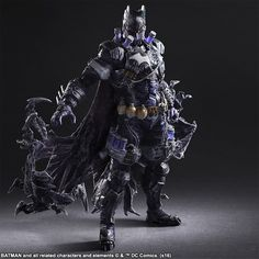 DC Comics Batman Mr. Freeze Rogues Gallery Play Arts Kai Variant Action Figure
