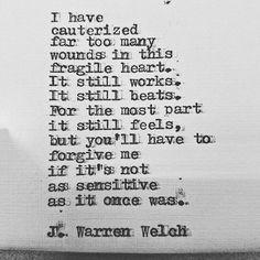 "440 Likes, 25 Comments - Jeff Welch (@j.warren.welch) on Instagram: ""@j.warren.welch #jwarrenwelch #wordsmith #poet #poem #poetry #writer #wordporn #wordgasm…"""