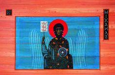 Św. Michał - J.Nowosielski Orthodox Catholic, Sacred Architecture, Church Interior, Sacred Art, Religious Art, Byzantine, Sacramento, Contemporary, Modern