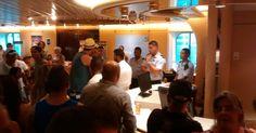 Passageiros de cruzeiro reclamam por mudança de rota após protesto em SC