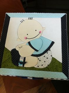 Caixa para bebês, 25x25x15. Aceito encomendas, varios temas