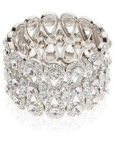 Ultimate Sparkle Bracelet   Clear   Accessorize