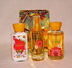 Bath  Body Works  Signature Collection Love  Sunshine  Travel Size  Gift Set * Visit the image link more details.