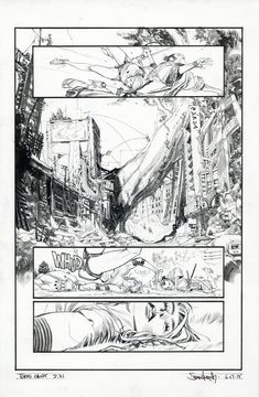 Tokyo Ghost / Original art by Sean Gordon Murphy in category Strips