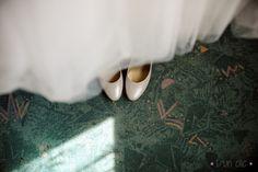 Photo #mariage #chaussure #mariee